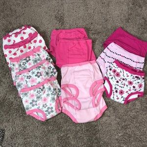 💕NWOT 3T,4T girls training pants 💕🦋